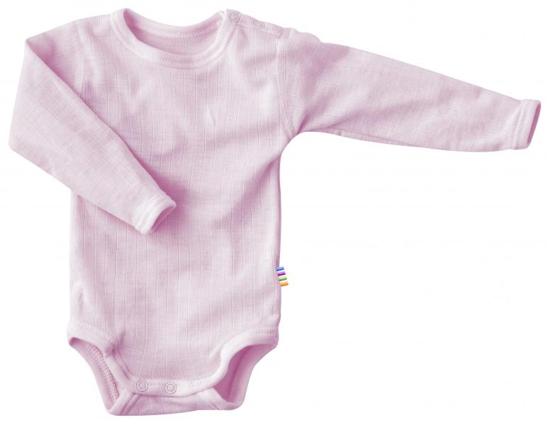 Joha Body L.S. Basic Wool Prime Rose