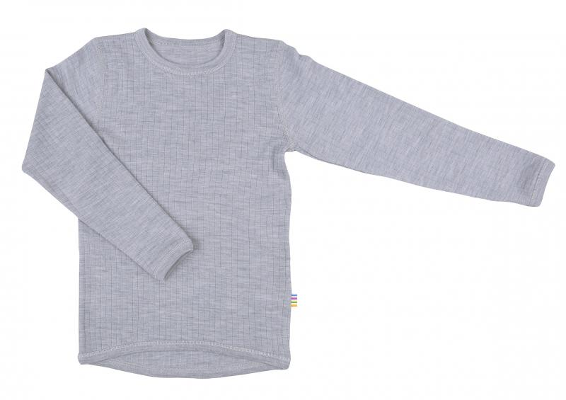 Joha Shirt L.S. Basic Wool L.t.Greymel 16341-122-15110
