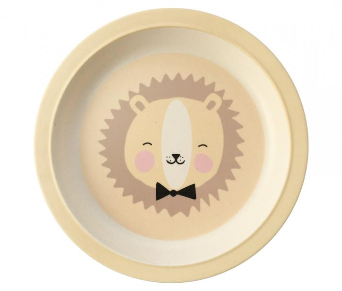 EEF Lillemor Bamboo Plate Lion