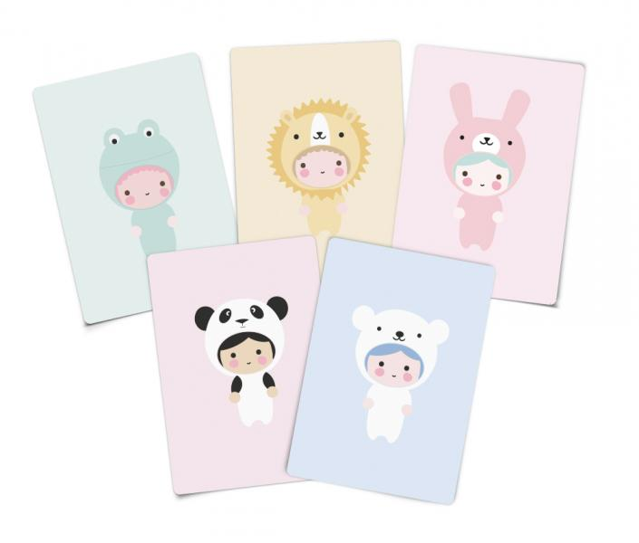 EEF Lillemor Little Animals Invitations