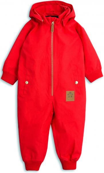 Mini Rodini Pico Overall-Red