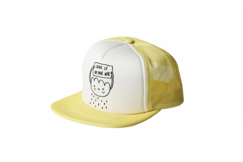 Kukukid Cap Yellow Love Is in  the Air Cloud