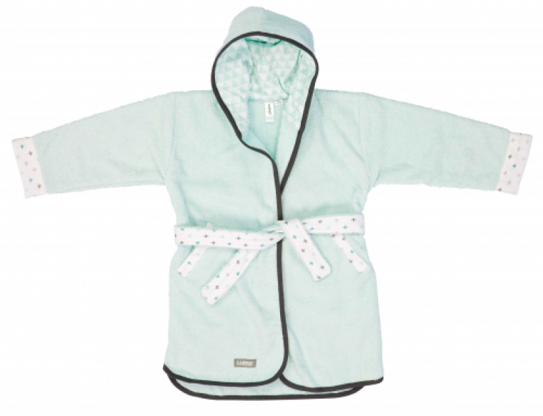 Luma bathrobe Misty Mint