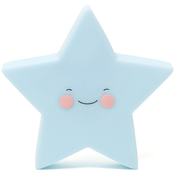 EEF Lillemor Nightlight Star - Blue