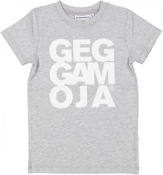 Geggamoja T-shirt Grey melange