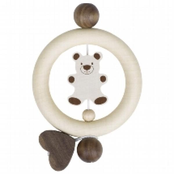 Goki Touchring Bear nature wood -764160