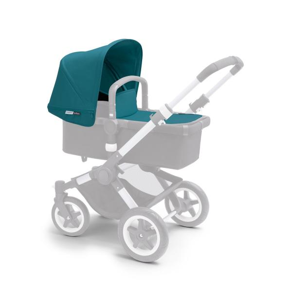 Bugaboo Buffalo tailored fabric set PETROL BLUE (ext. canopy)