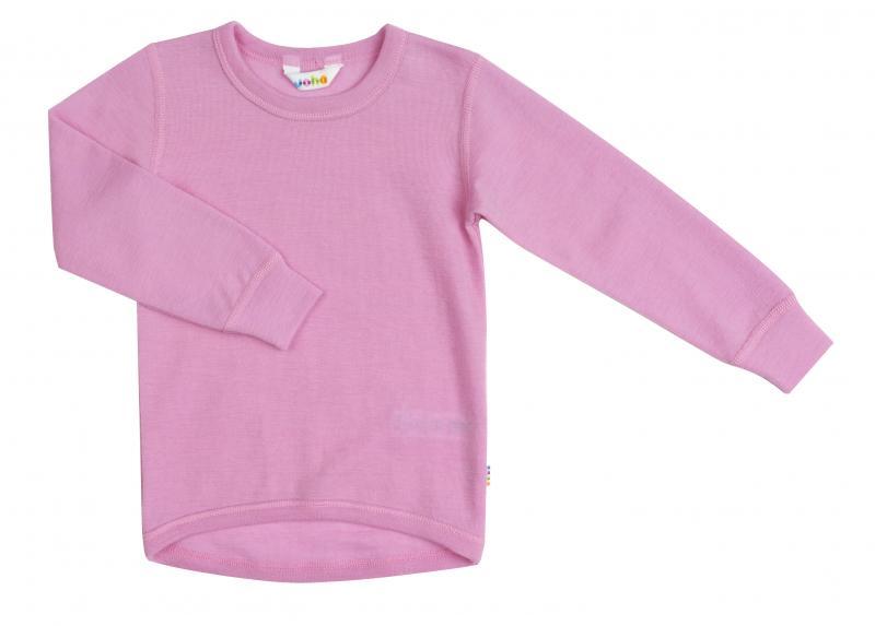 Joha Blouse W/Long Sleeves Rosa uld. 10108-255-456