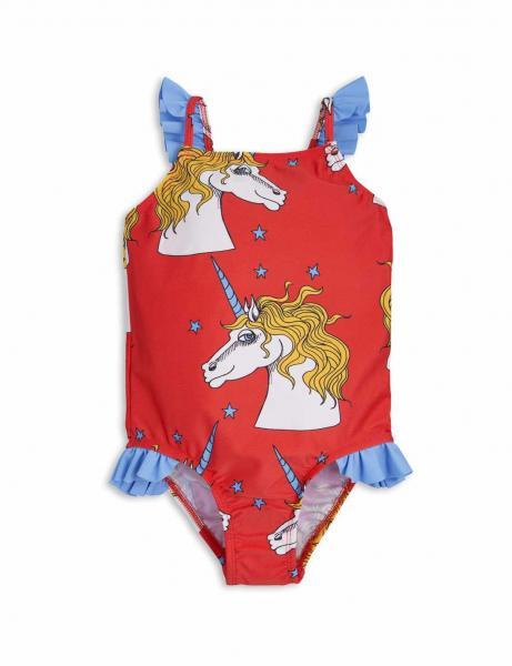 Mini Rodini Unicorn Star Wing Swimsuit