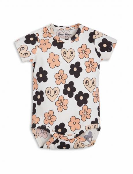 Mini Rodini Flower SS Body