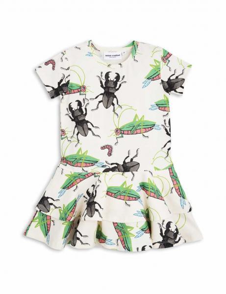 Mini Rodini Insects Frill Dress