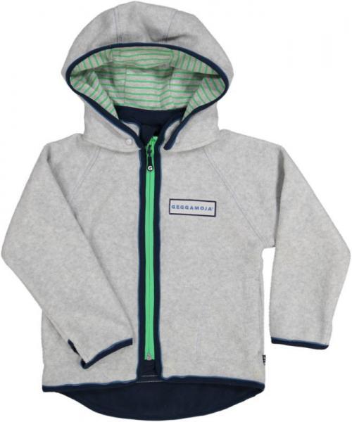 Fleece Jacket Grey Melange 26