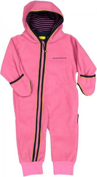 Geggamoja Fleece overall pink 38