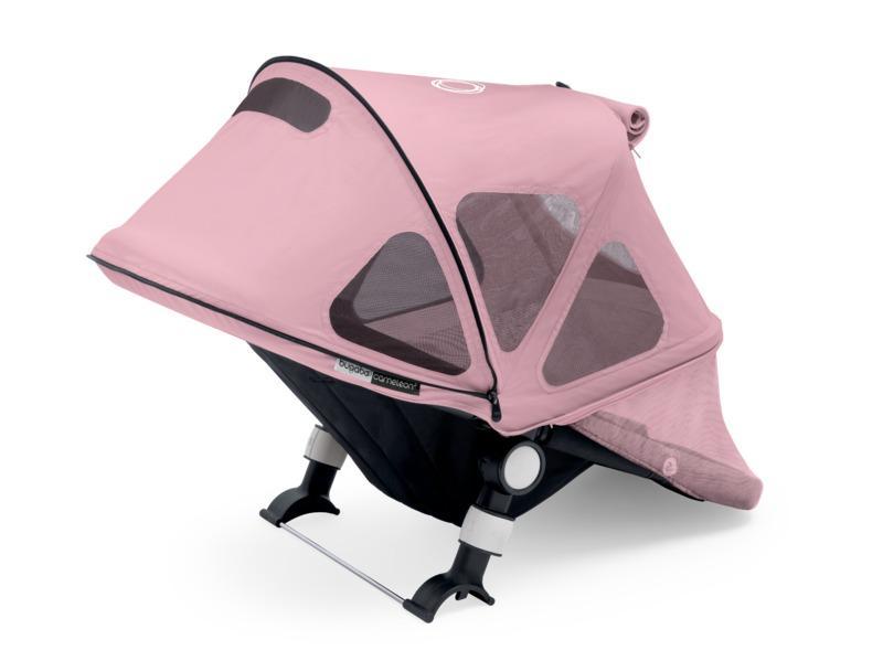 Bugaboo Buffalo Breezy sun canopy - soft pink