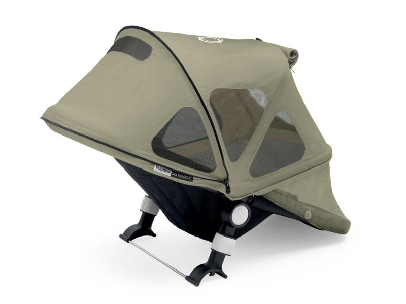 Bugaboo Donkey Breezy Sun Canopy Dark Khaki