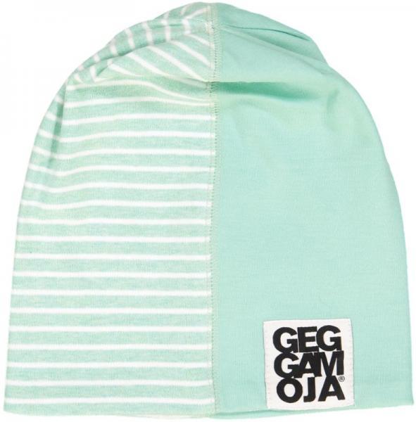 Geggamoja Two Color Cap Green mel/White 30