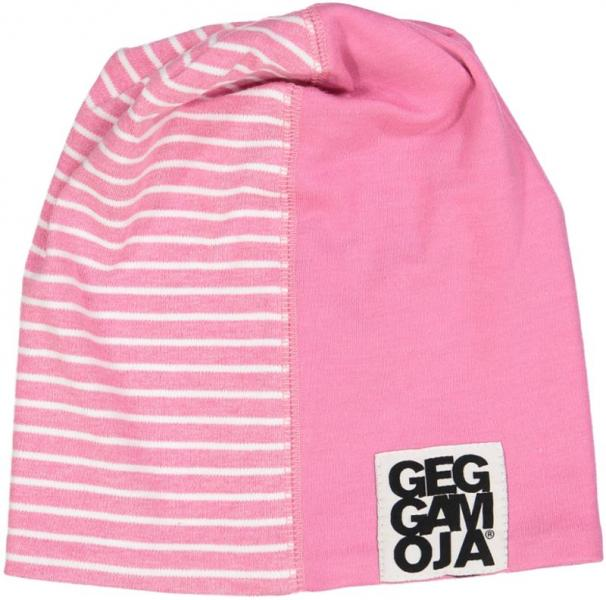 Geggamoja Two Color Cap St.Pink mel/White 31