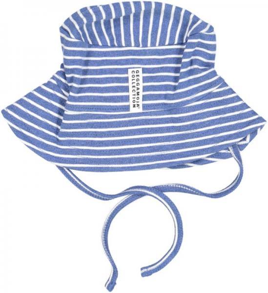 Geggamoja Sunny Hat Marin mel/White 31