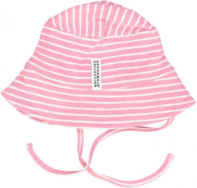 Geggamoja Sunny Hat St.Pink mel/White 32