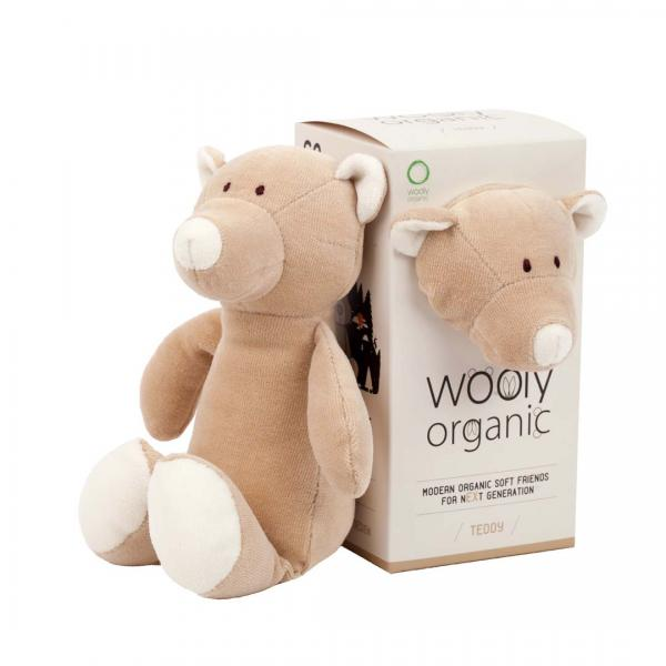 Wooly Organic Soft Toy Teddy Small size