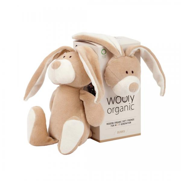 Wooly Organic Soft Toy Bunny small size