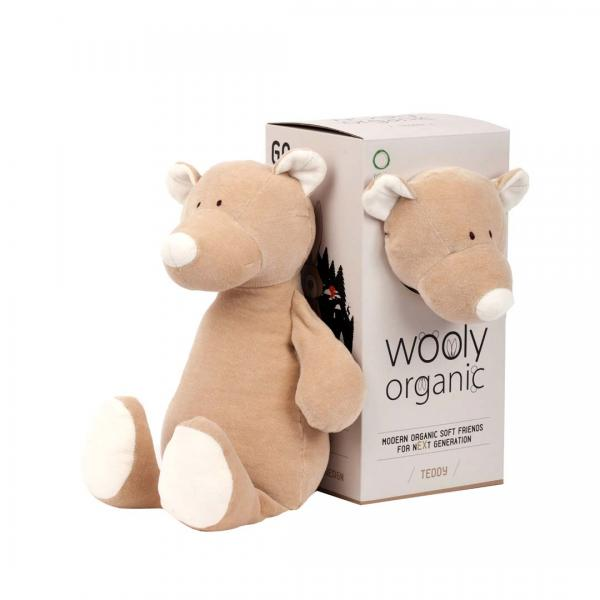 Wooly Organic Soft Toy Teddy