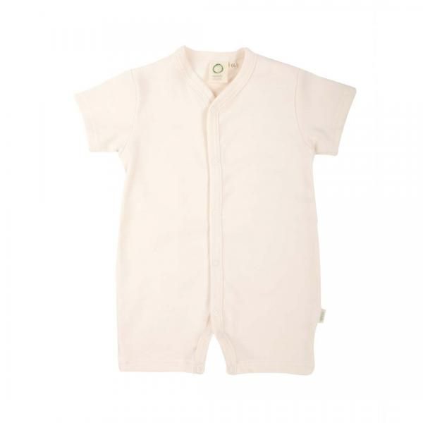 Wooly Organic Baby Romper Suit - Ecru Colour