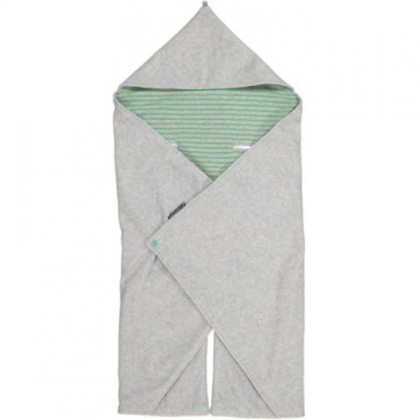 Geggamoja Wrap Around Blanket Grey Melange 26 One size
