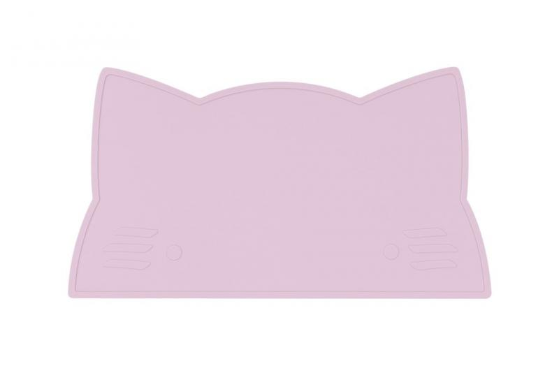 We Might Be Tiny Placemat Cat-Powder Pink