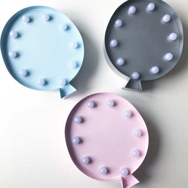 Led Lamp Õhupall-Sinine