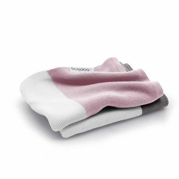 Bugaboo Light Cotton Blanket-SOFT PINK MULTI
