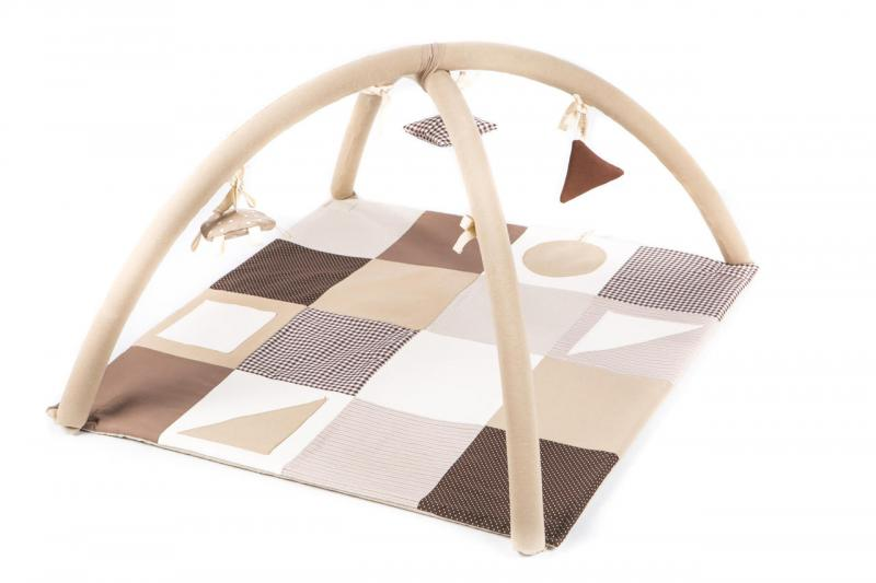Karloova Playing Arches with Blanket-Beige
