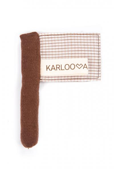 Karloova Flag-Beige Checked