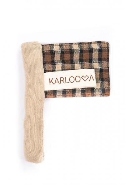 Karloova Flag-Brown Checked