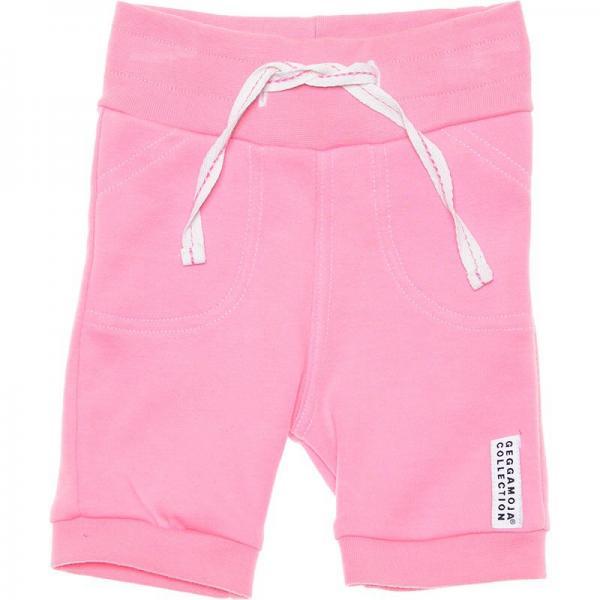 Geggamoja baby shorts, pink