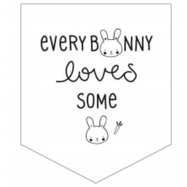 Mini Wall Flag Bunny