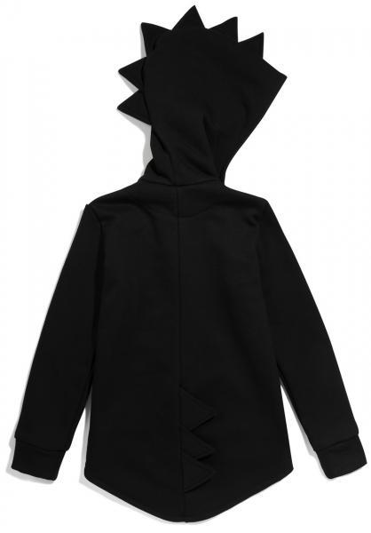 Kukukid Dino dressipluus/hoodie black