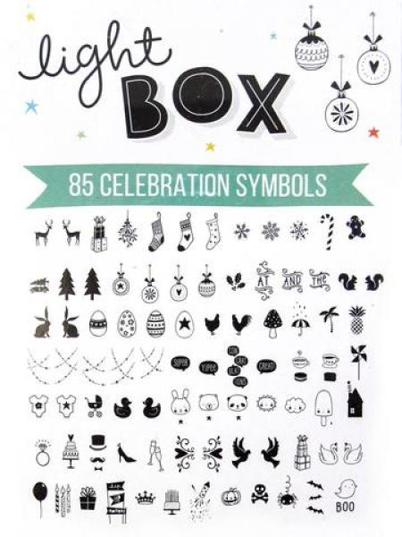 Lightbox symbol set: Celebrations