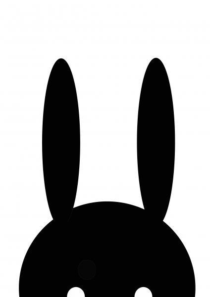 Plakat-Bunny