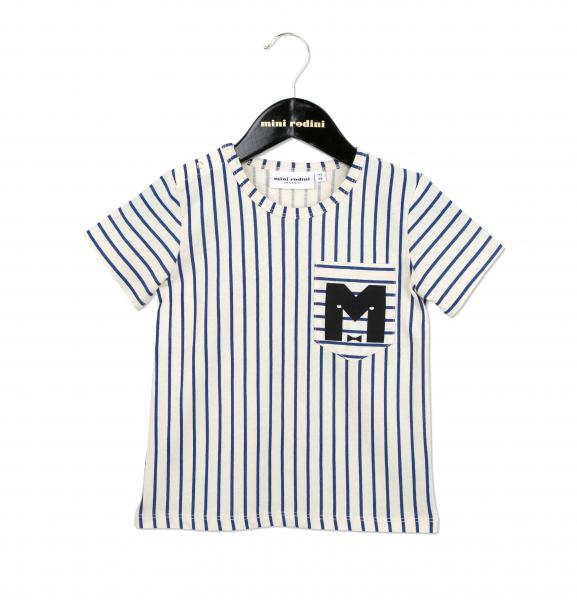 Mini Rodini Stripe baseball tee