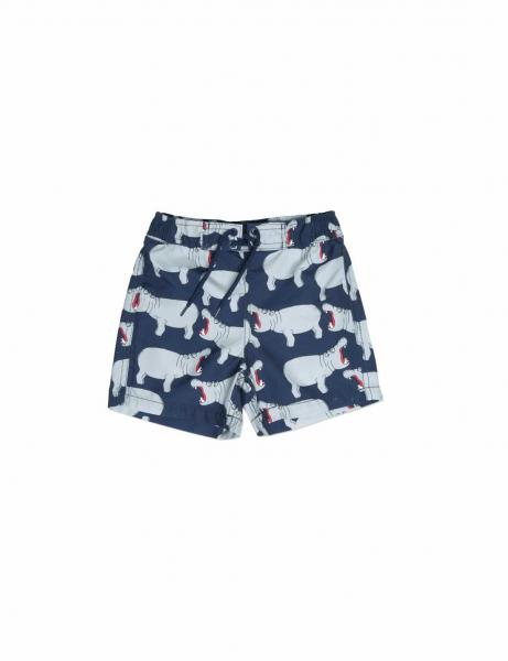 HIPPO AOP SWIMSHORTS-GREY