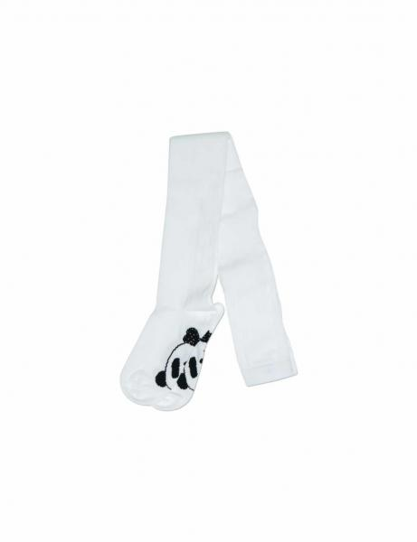 PANDA Tights white