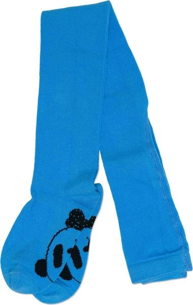 Mini Rodini Panda Tights Blue