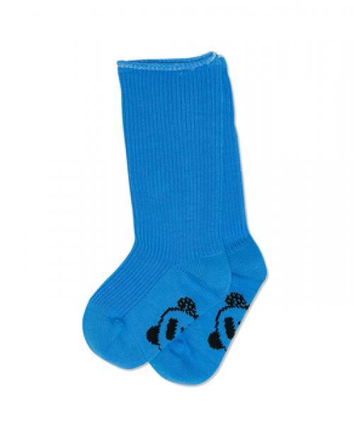 Mini Rodini Panda Baby Sock blue