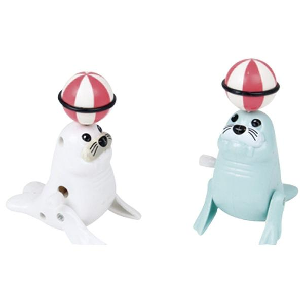 Goki sea lions with wind-up motor