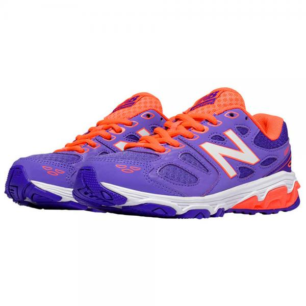 New Balance KR680CPY -M Jr run shoe Purple/Orange