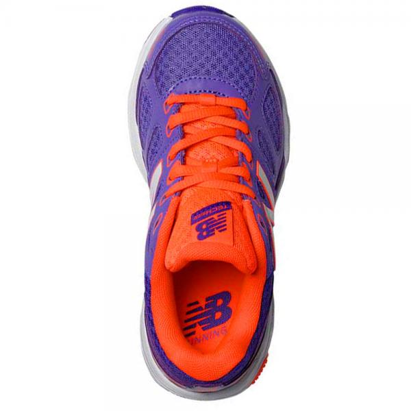 New Balance KR680CPY -M Jr run shoe Purple/Orange