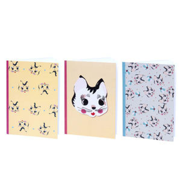 Lapin & Me Kitty Pocket Note Book Pink