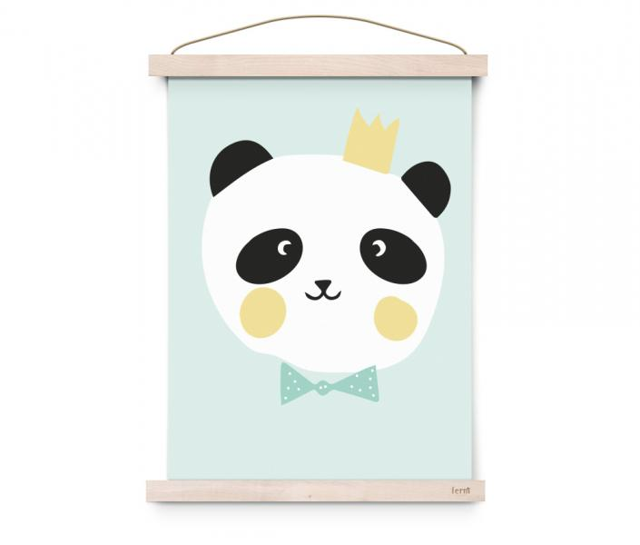 EEF Lillemor Poster Lovely Animals King Panda
