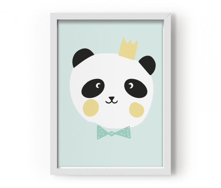 EEF Lillemor Poster Lovely Animals King Panda